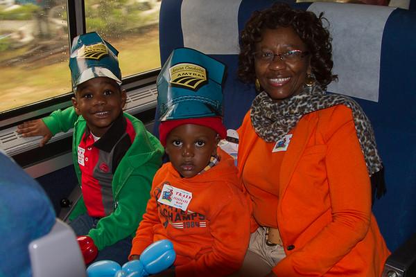 2015 Amtrak Train Ride with Joy the Clown
