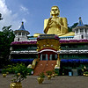 Goldent Buddha Statue at Dambulla Temple