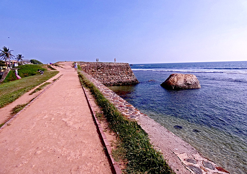 Galle Fort Ramparts