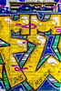 Grunge Abstract Street Art Graffiti Background