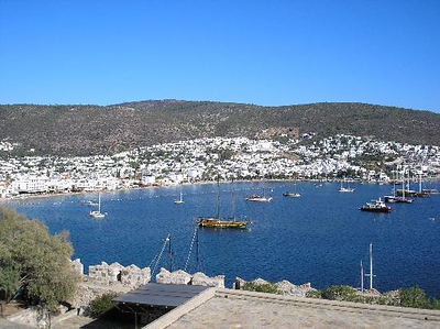 Bodrum from castle