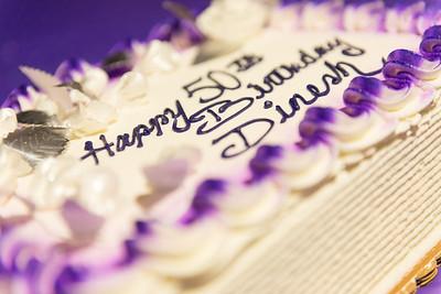 Dinesh's 50th Birthday
