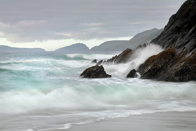 Breaking Waves at Coomeenole Beach-1L8A1417