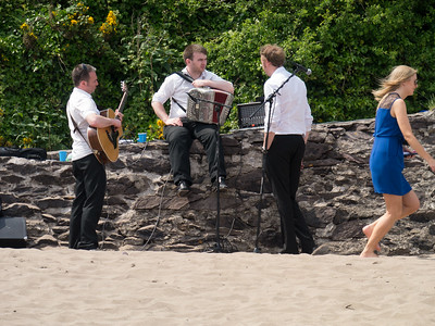 A wedding on a Dingle beach