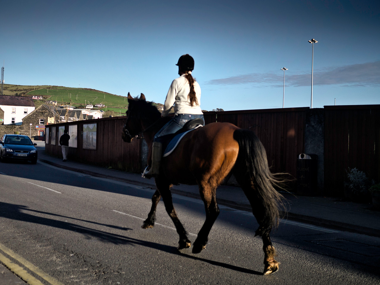 Horse Riding in Dingle Town