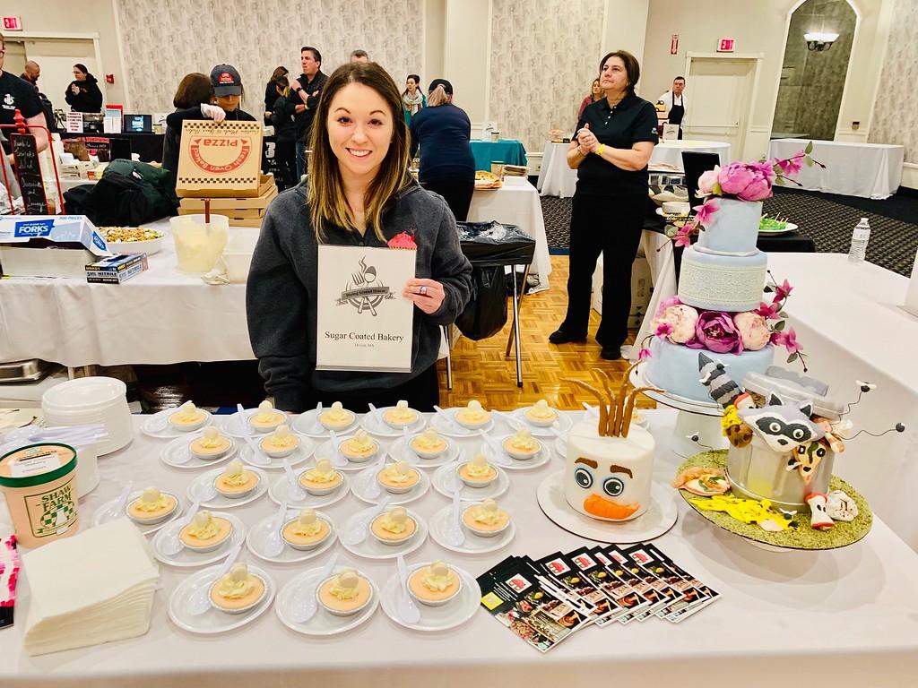 . The sweet Rebecca Zimmerman of Sugar Coated Bakery in Dracut