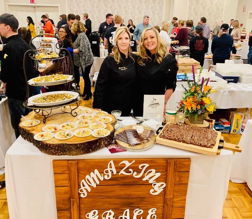 . Amazing Grace Catering Company of Chelmsford, featuring the dynamite sister duo of Sherry Lowney, left, and Danielle Coffey, both of Chelmsford