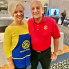 Dracut Rotary President Frank Antifonario and his lovely wife, Rachel, also a member, opf Dracut