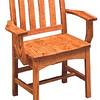 Trestle Chair - Medium Oak
