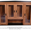 "Shaker Hutch - 74"" (top only)"