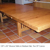 Mission Table - Medium Oak