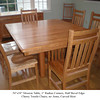 Table - Mission w/ Cherry Trestle Chairs