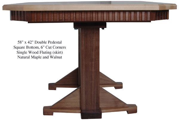 table-square-fluted-mission-maple-walnut-side
