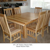 Table - Hickory Mission w/ Raised Mission Chairs