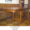 Table - Mission in Autumn Oak w/ Two Leaves