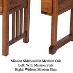 Sideboard Slats