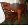 Table - Harvest in Autumn Oak w/ Mission Chairs