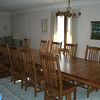 Long Mission Natural Walnut Table and Chairs