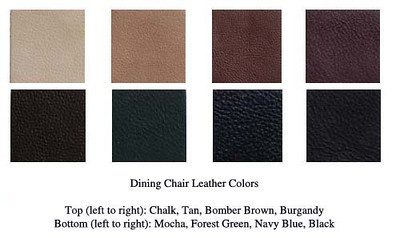 Chair - Leather Colors