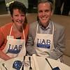 LAB President Carolyn Gregoire and husband Bob of Westford