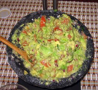 Guacamole in a molcajete (10/26/08)