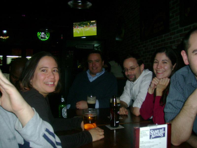 Lucy, Matt, Adam and Linda