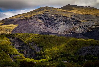 Dinorwic Quarry - Snowdonia - Wales