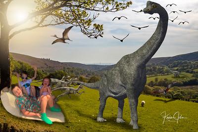 Kids tree & Dino