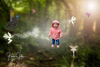 Pink girl fairies