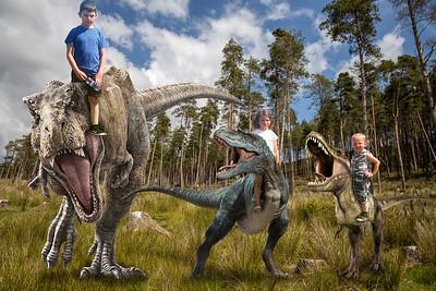 3 Kids Dinos