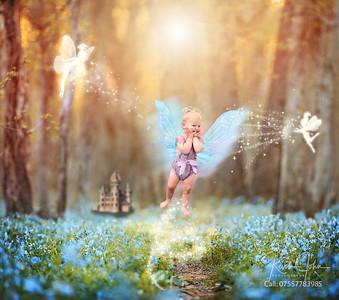 Flying Fairy baby