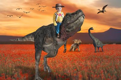 Cowboy Dinosaur