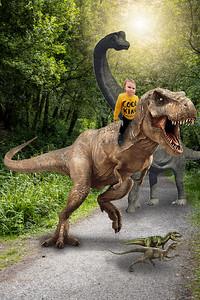 Boy in yellow Trex