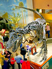 Dinosaur skeleton: Tyrannosaurus Rex was king of the dinosaurs, a meat eating dinosaur 65 million years ago in the American West. National Museum of Natural History, Washington DC, November 2006.