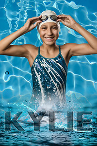 kylie swim banner blue-2