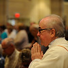 New York Archbishop Timothy Dolan concelebrates and gives the homily at a Mass at Sacred Heart Cathedral honoring jubilarian priests, the year for priests and St, John Fisher, patron saint of the Rochester Diocese.