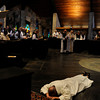 Brother Isaac Slater ordained a transitional deacon at the Abbey of the Genesee Cistercian Monastery in Piffard.