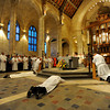 Deacon ordination Mass for Eric Bessette, Donald Eggleston, John Hoffman and Robert Lyons at Rochester's Sacred Heart Cathedral.