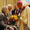 Annual Wedding Jubilee Celebration Mass at Sacred Heart Cathedral, Bishop Matthew H. Clark presiding.