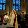 Annual Wedding Jubilee Celebration Mass at Sacred Heart Cathedral, Bishop Matthew H. Clark presiding.