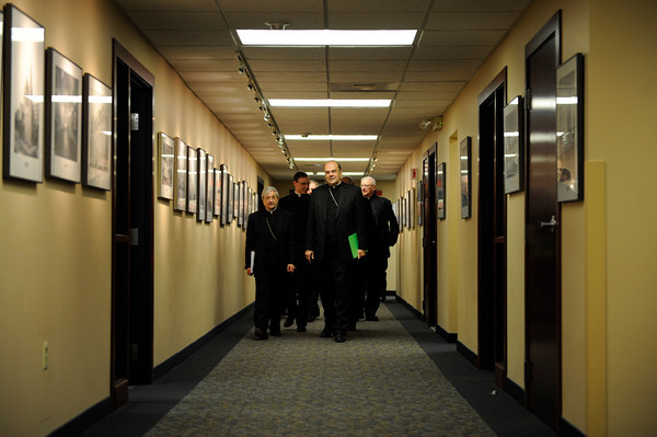 Bishop Salvatore R. Matano is introduced as the ninth bishop of Rochester, N.Y.