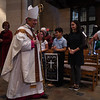 2019 Respect Life Mass at Sacred Heart Cathedral. Vita awards handed out at end of Mass.