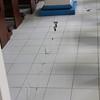 Floor tiles.