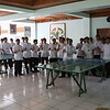 Seminarians at St. John Mary Vianney Seminary serenading us.