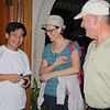 Linh, Pat and Bill upon our arrival in San Carlos.