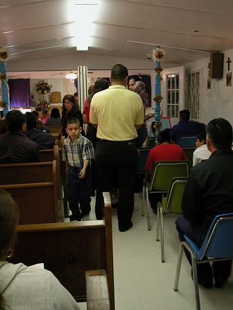 Santa Teresita Communion