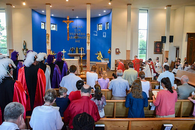 Fortnight For Freedom Mass 6-29-17