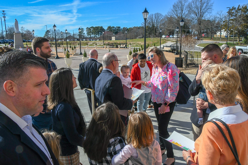 The Rite of Election at Holy Name of Jesus Cathedral, Raleigh, NC 2-18-2018