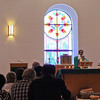 Fr. Tomysac Philip celebrates mass at St. Bernadette Parish, Fuquay-Varina, NC, 7-7-2013
