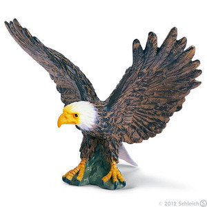 Schleich Bald Eagle with Spread Wings (16707)